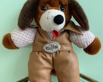 Vintage Plush Elvis Presley Hound Dog Stuffed Animal Christmas Toy Nineties Gift Kids Toys Deadstock Rare Hounddog Puppy Memorabilia