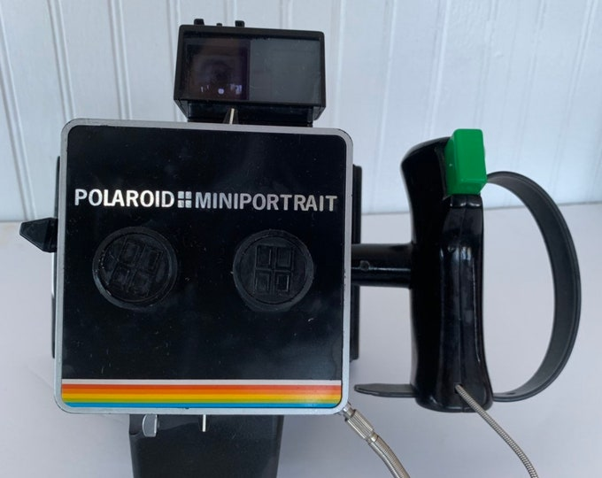 Rare Polaroid Mini Portrait Land Camera Vintage Working Condition Original Box Photography Gift Instant Cameras