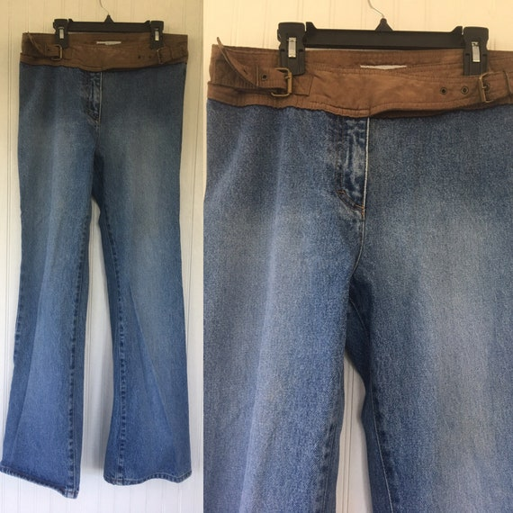 Vintage 90s No Boundaries Size 8 Medium Denim Jean