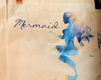 Eco Mermaid Canvas tote