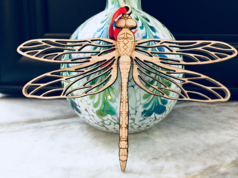 Christmas Ornament Dragon Fly Dragonfly