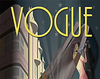 Vogue Magazine March 1921
