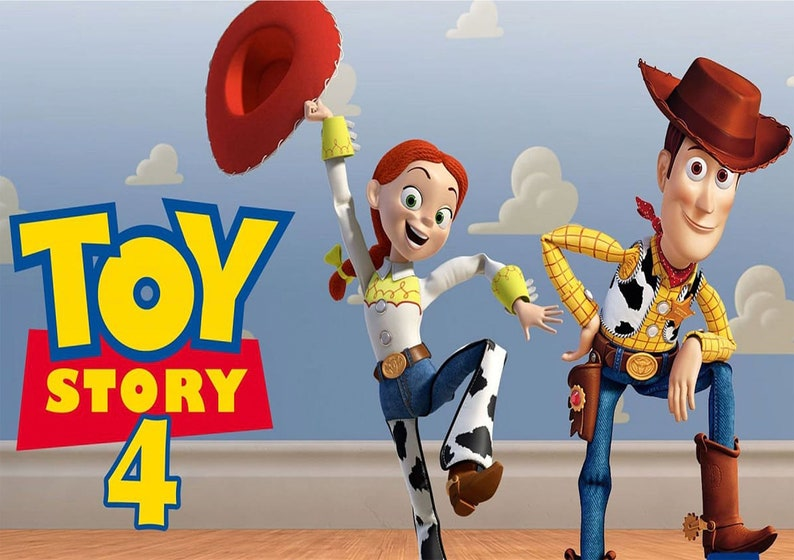 7ad9e9a5af0ec Poster of Toy Story 4 Digital Download only A2 and A3
