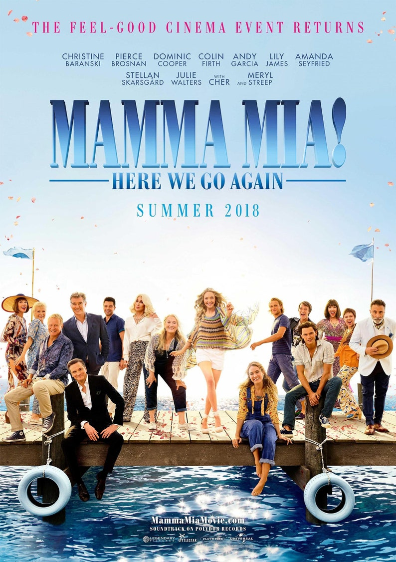 15bb2abb6c8c9f Poster of Mamma Mia 2 Here We Go Again 2018 Can be