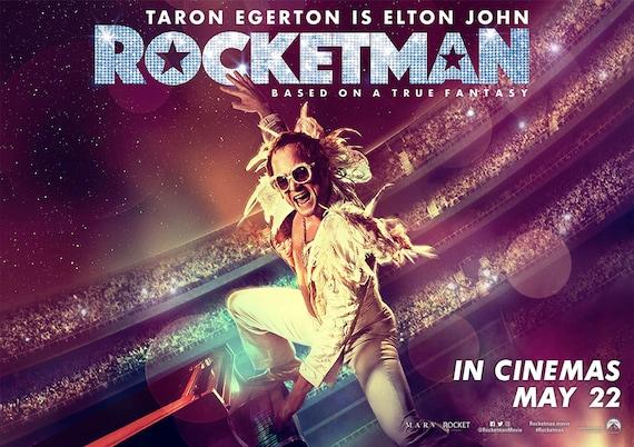 Image result for rocketman poster