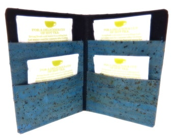 Cork Tea Wallet for the Tea Drinker on the Go, Eco-Friendly