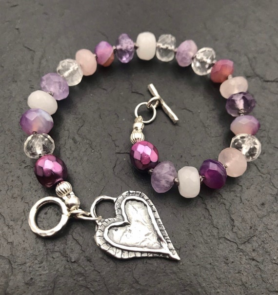 Gift For Girlfriend Bracelet Valentines Day