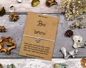 Be Brave Bracelet, Bee Wish Bracelet, Brave Bracelet, Keep Going Bracelet, Motivation Bracelet, Strength Bracelet, Brave Jewellery, Be Brave