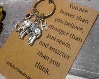 Large Elephant Keychain 50369741b