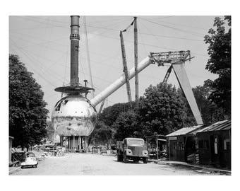 Poster - world fair 1958 Atomium - fine art gallery