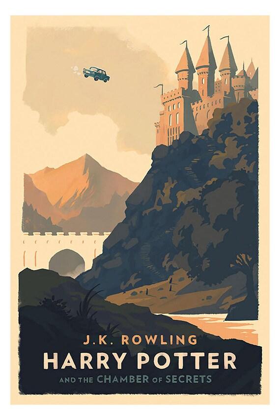 Petite affiche – Harry Potter et la Chambre des secrets