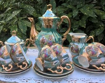 Tea Set Etsy