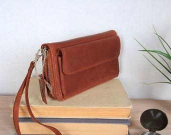 58a18a4145ac Crossbody wallet | Etsy