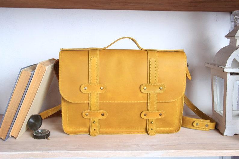 d0a7bc77f8 13 Mallette pour ordinateur portable sac besace en cuir sac | Etsy