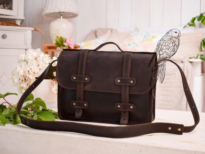 eb817d3bde Cartable en cuir femme & homme/travail sac femme/13 pouces | Etsy