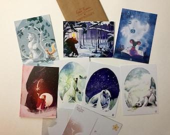 Christmas Postcard Collection