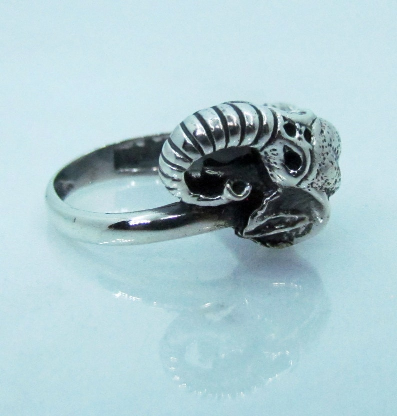 Elephant Sterling Silver Ring Punk Statement Ring Rock Choose Your Ring Size 925 Sterling Silver Ring Boho Solid Popular ring