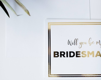 CARD SET - Will you be my Bridesmaid - Will you be my maid of honor - Bridesmaid Proposal - Maid of Honor Proposal