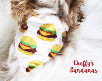 Whataburger Tie On Dog Bandana Friends dog bandana  Dog bandana  Dog scarf  Pet bandana  Bandana for dogs