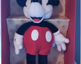 80af3ec06c1 1980s Mickey Mouse Plush (GUND)