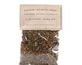 30 gr. 10 gr. Free Lemon Balm Leaf, Certified Organic, Dried Herb, Organic, Elder, Dried Flowers, Tea, Natural Herbs, Medicinal Herb, Tea