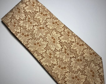 Gold Freckled Leaves Classic Tie