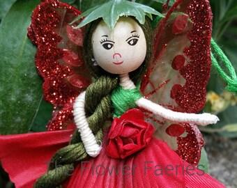 Flower Fairy -Poppy red