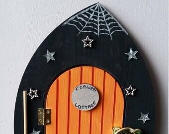 Fairy door - 'Cobweb Cottage'