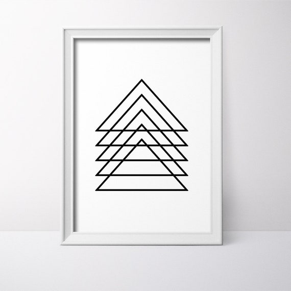 photo relating to Printable Triangles identified as Modernist Wall Artwork, Triangles Poster, Triangles Print, Printable Triangles, Minimalist Decor, Geometric Printable, Geometric Wall Print