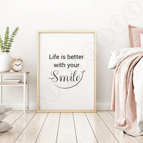 Accessory Digital Download Be Kind Motivational Wall Hanging Home Decor Interior Design Printable Inspirational Quote