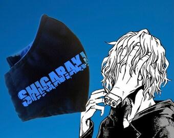My Hero Academia Tomura Shigaraki Inspired facemask Anime ninja facemask