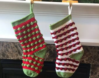 The Holly Berry Stocking