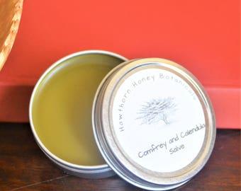 Comfrey and Calendula Salve