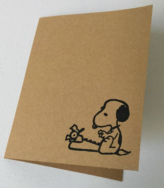 SNOOPY I DON/'T THINK I REALLY NEED THIS DONUT GREETING CARD