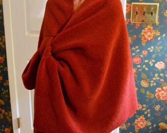 Snuggly Fleece Wrap