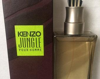 042471195 Kenzo Jungle Eau de Toilette Spray for Men 1.7oz/50ML Original Version  Cologne