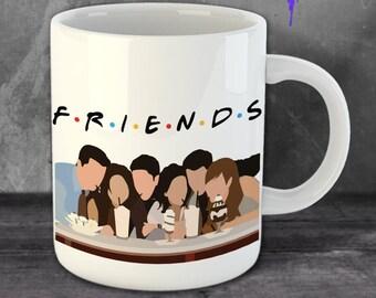 MUG Friends Friends TV Show Mug TV Show Mug Friends 90s Vintage Gift For Friends Funny Mug Gift Friends Mug Christmas Mug Gift Xmas BF3015