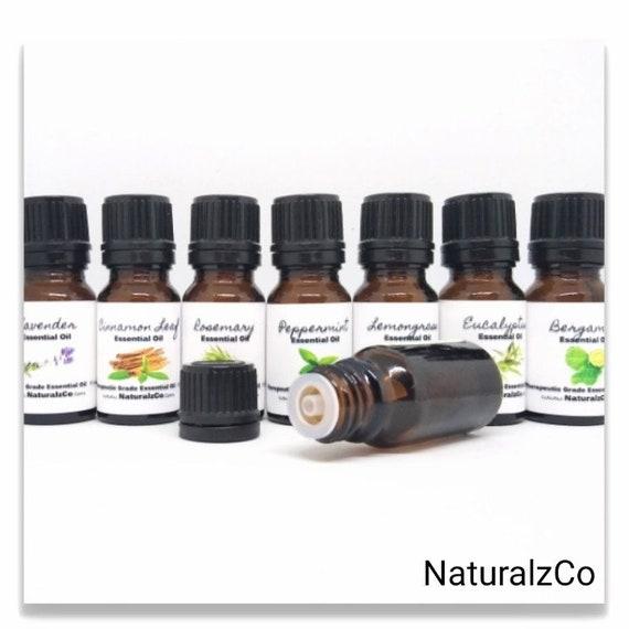 Essential Oils   Therapeutic Grade   Pure   10 ML   Euro Dropper   Diffuser Oils   Aromatherapy   NaturalzCo
