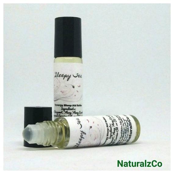 Sleep Essential Oil Roller   Sleepy Tea   Natural Sleep Remedy   Sleep Aid   10 ML Roller Bottle   Lavender Sleep   Sleep Oil   NaturalzCo