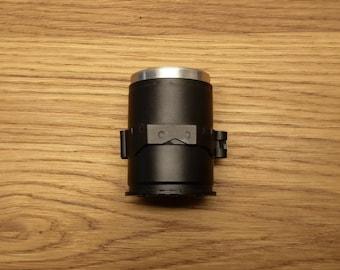 Handmade 40mm grenade casing shot glass. Matt Black powder coating finish with link