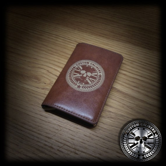 Leather Wallet Leather Card holder Personalised Wallet RFID  9894a2202fad