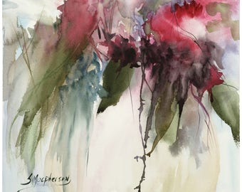 Giclee Fine Art Print: Poetry of Flowers
