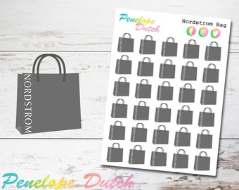 abeb9ba63df Nordstrom Department Store Shopping Bag Planner Stickers