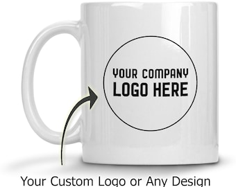 PERSONALIZED Mug Gift - Custom Pet Photo, Company Logo, Favorite Quote on Ceramic Coffee Cup, Design Your Own Mug for Mother's Day, Birthday
