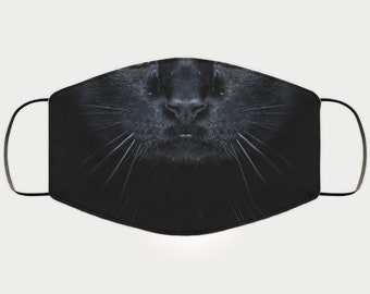 Face Mask Gift for Bombay Cat Lover, Double Layer Protective Mask, Reusable, Washable, Breathable, Print Quality Present for Girlfriend