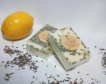 Handmade Soap Lavender & Honey Goats milk Base