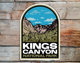 Kings Canyon National Park Stickers
