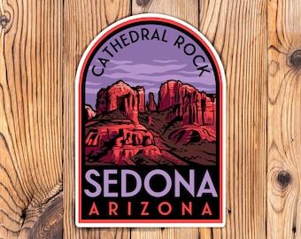 Sedona Arizona Sticker Cathedral Rock