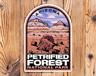Petrified Forest National Park Arizona Stickers
