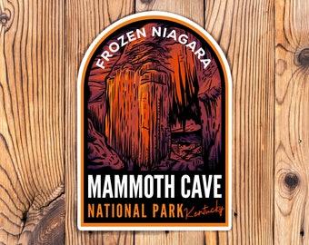 Mammoth Cave National Park Sticker